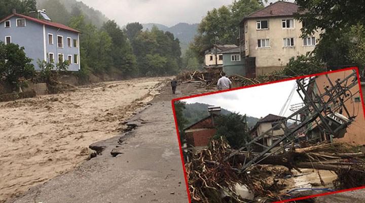 Bartın, Sinop ve Kastamonu'da sel felaketi: 2 kişi kayıp